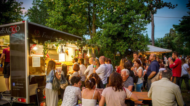Food Truck: Ravenna Street Festival