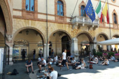 Studenti Tedeschi In Piazza Del Popolo