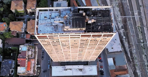 Cinema Grattacielo Drone