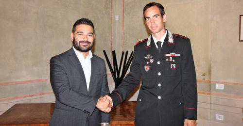 Il Sindaco Davide Ranalli E Il Capitano Giuseppe Talamo, Lugo, 4 Settembre 2017 (1)