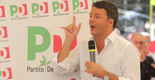 RAVENNA 03/09/17. RENZI ALLA FESTA DELL' UNITA' DI RAVENNA