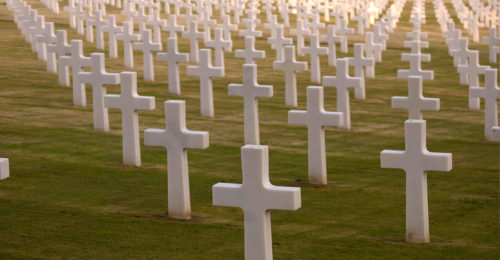 Croci Cimitero Americani