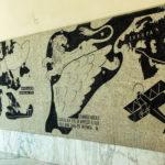 Forlì, quadriportico del Cortile Italico dell'ex Collegio Aereonautico