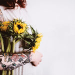 Annie Spratt, Tattoo & sunflower