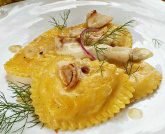 Squisiti ravioli ripieni di merluzzo for Casa del merluzzo