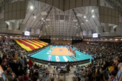 VOLLEY PALLAVOLO. BUNGE RAVENNA SIR SAFETY CONAD PERUGIA.