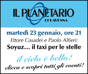PLANETARIO – MR EVENTO 23 01 – dal 19 al 23 01 18