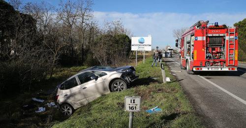 L'incidente del 3 gennaio sull'Adriatica