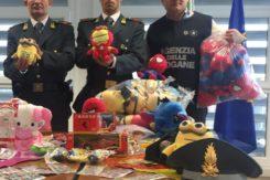 Sequestro giocattoli finanza
