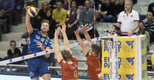 VOLLEY PALLAVOLO. Bunge Ravenna Tonno Callipo Calabria Vibo Valentia 3 1.