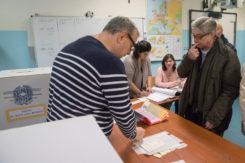 RAVENNA 04/03/2018. ELEZIONI POLITICHE 2018. Il Voto Dell' Ex Presidente Della Regione Emilia Romagna Vasco Errani Ora Candidato Per Liberi E Uguali.