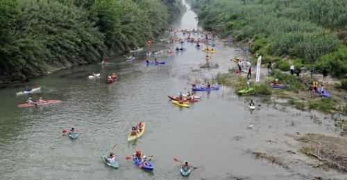discesa dei fiumi uniti