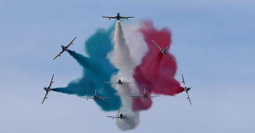 Calendario Frecce Tricolore 2020.Le Frecce Tricolori A Punta Marina Alle 18 01 Il Programma