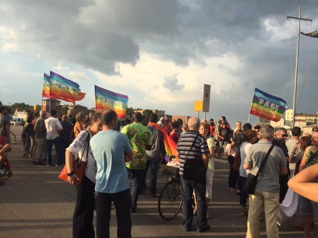 Flash Mob in Darsena