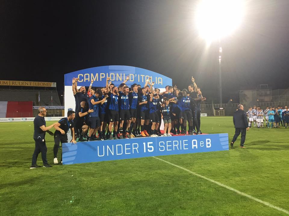 Inter campione anche tra gli Under-15. In finale 5-0 alla Juventus