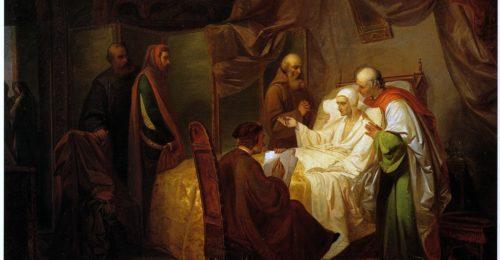 La Morte Di Dante Eugenio Moretti Larese