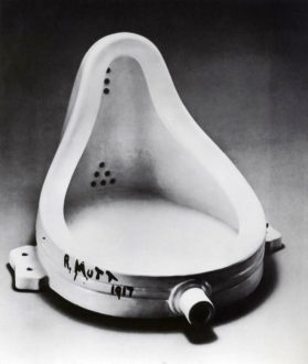 Marcel Duchamp, Fountaine