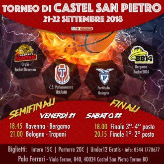 Locandina Torneo Castel San Pietro