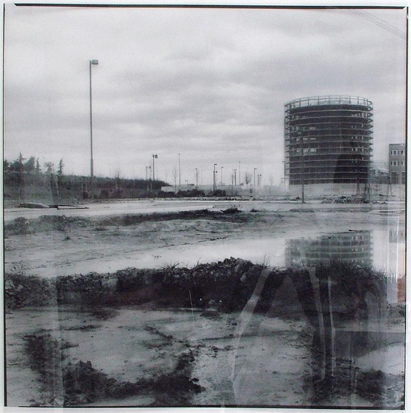 Luca Piovaccari, Ricognizione Sul Paesaggio, 2008, Fotografia Su Pellicole Trasparenti, 38x38 Cm