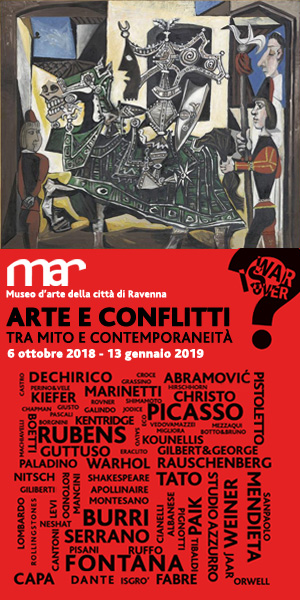 MAR – MOSTRA WAR IS OVER HALFPAGE 05 10 – 18 11 18