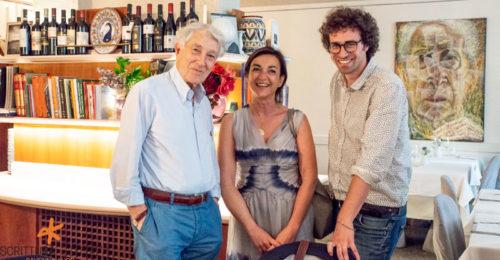 Matteo Cavezzali Con Daria Bignardi E Corrado Augias