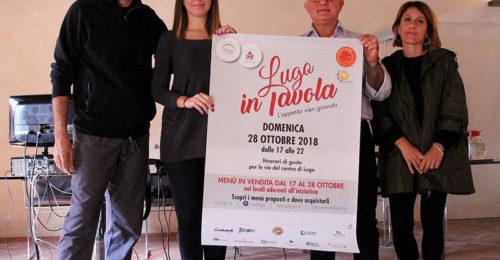 Presentazione Lugo In Tavola, 19 Ottobre 2018