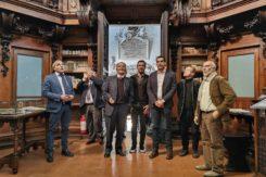 Romano Prodi visita la Classense