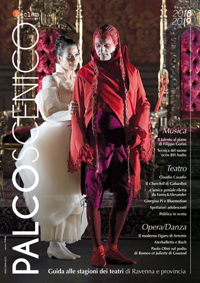 Palcoscenico 2018 Cover