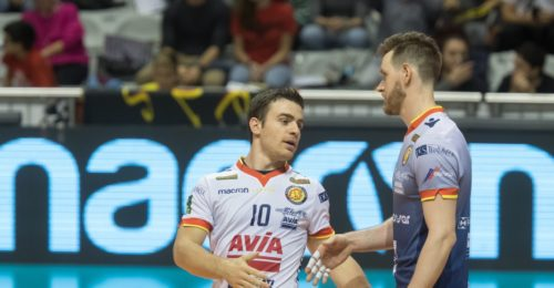 VOLLEY PALLAVOLO, SUPERLEGA A1. Consar Ravenna Revivre Axopower Milano 3 0.