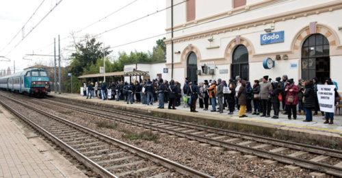 Protesta Stazione Godo