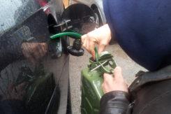 Ladri Carburante Auto Furto Benzina