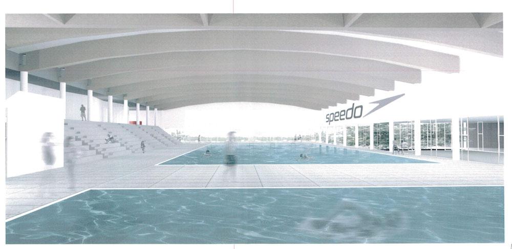 Ravenna nuova piscina comunale i rendering e i dettagli del progetto arco - Piscina comunale ravenna prezzi ...