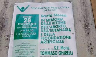 Volantino Messa