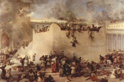 Francesco Hayez Distruzione Del Tempio Di Gerusalemme