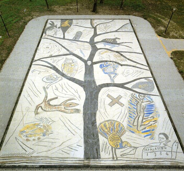Paladino Albero Della Pace Mosaico