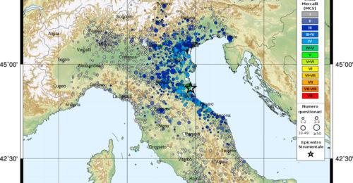 Terremoto Ravenna
