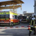 RAVENNA 15/03/2019. INFORTUNIO SU LAVORO ALLA RESIN PLAST. 2 Operai Ustionati Dalla Esplosione Di Un Quadro Elettrico.