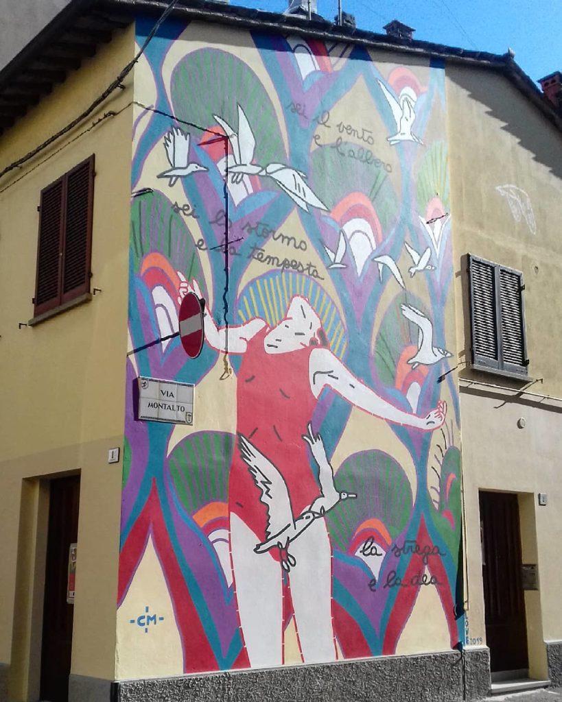 I Piu Bei Murales.Ecco Il Nuovo Murales Di Faenza Foto Un Omaggio Alle Donne Per L