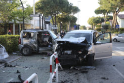 RAVENNA 20/04/2019. INCIDENTE MORTALE A PINARELLA