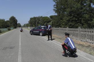 RAVENNA 11/08/2019. RAGAZZA TRAVOLGE ED UCCIDE UN CICLISTA 25ENNE POI SCAPPA, ARRESTATA.
