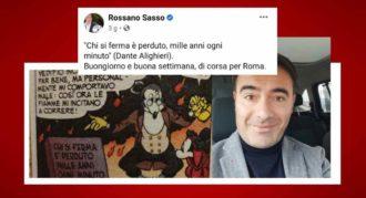 Roberto Sasso Gaffe Citazione