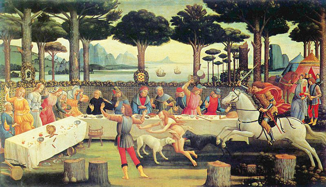Botticelli Nastagio